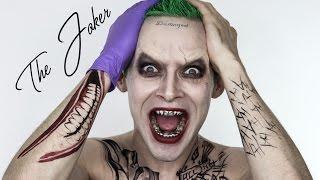 The JOKER Suicide Squad Halloween MakeUp | Jared Leto | Shonagh Scott | ShowMe MakeUp