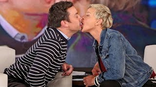 Ellen Show | Jimmy Fallon Plays Speak Out