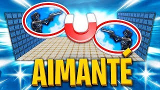 *NEW* FIGHT AIMANTÉ sur FORTNITE BATTLE ROYALE !!!