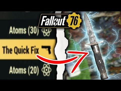 Fallout 76 | Is The Quick Fix Unique Weapon Worth The Grind? (Fallout 76 Legendary Weapons)