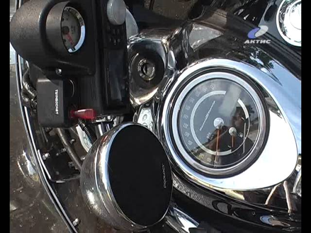 Грузовик сбил элитный мотоцикл