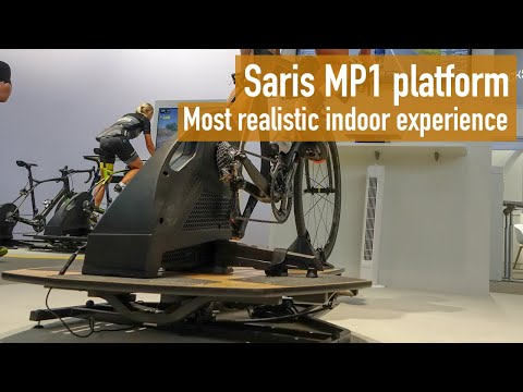 Saris MP1 Nfinity Platform - The most realistic indoor training experience?