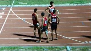 4x400m men final (LONGER VERSION) - SEA Games 2011
