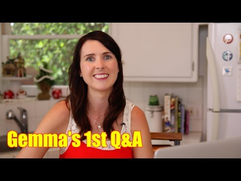 Gemma's 1st Q&A: Get to Know Gemma – Bigger Bolder Baking