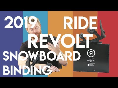 2019 Ride Revolt Snowboard Bindings Review
