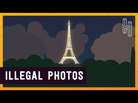 Taking Photos of the Eiffel Tower at Night is Illegal