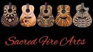 Guitar Pyrography: Woodburning Custom Art On Guitars.