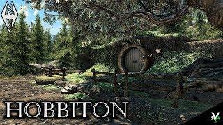 HOBBITON- Unique Player Home!!- Xbox Modded Skyrim Mod Showcases