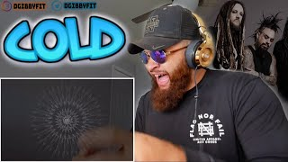 KORN   COLD (Official Visualizer)   FIRST REACTION!