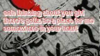Where Are You Now - Jimmy Harnen With Lyrics