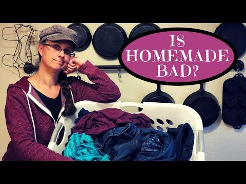 STOP using HOMEMADE Laundry Soap?!?!