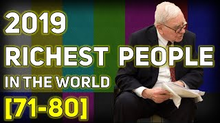 Top Billionaire Rankings from 71st to 80th