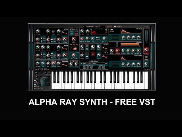 Free Vst Synth | Alpha Ray by TubeOhm