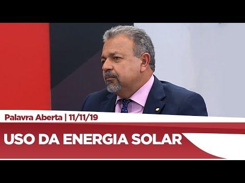 Elias Vaz avalia incentivos para uso de energia solar