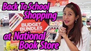 Back To School Shopping At National Book Store #JolinaNetwork