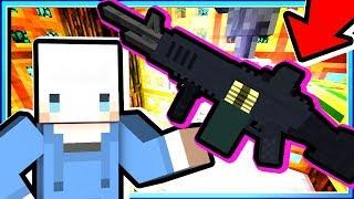 【Minecraft | 魔法槍械】#42 M60機槍掃射蜘蛛塔❗女王陛下沒房子了😂