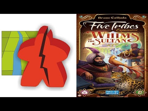 The Broken Meeple - Whims of the Sultan Review