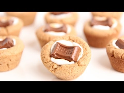S'Mores Cookie Cups Recipe – Laura Vitale – Laura in the Kitchen Episode 801