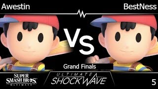 USW 5 - Awestin (Ness) vs BestNess (Ness) Grand Finals - SSBU