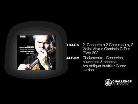 play video:Ars Antiqua Austria; Graupner - Concerto a 2 Chalumeaux, 2 violis Viola e Cembalo C-Dur GW