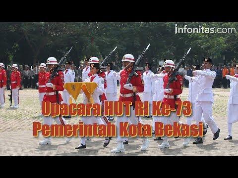 Upacara HUT RI Ke-73 Pemerintah Kota Bekasi