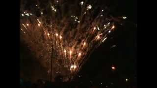 preview picture of video 'Fiesta del Ajo 2012 - CrayonesFireworks.mpg'