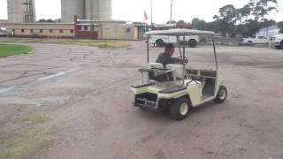 Melex Golf Cart Top. Solorider Golf Cart, Coleman Golf Cart, Antique on