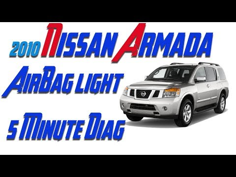 VDC/ABS/4WD LIGHTS ON NISSAN ARMADA 2010 - смотреть онлайн