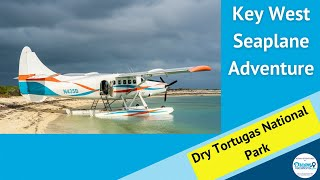 Key West Seaplane Adventure flight to Dry Tortugas National Park and Fort Jefferson.