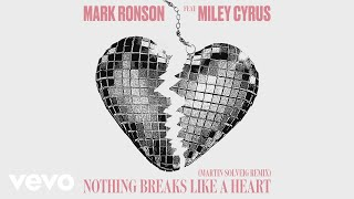 Mark Ronson   Nothing Breaks Like A Heart (Martin Solveig Remix) [Audio] Ft. Miley Cyrus