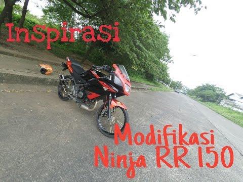 Video Inspirasi: Modifikasi Ninja RR 150 Jari-Jari | MOTOVLOG INDONESIA