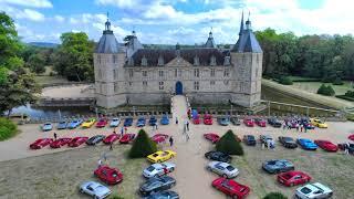 50 ans du club Ferrari - France au Château de Sully