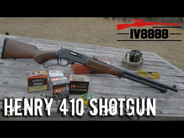 IraqVeteran8888 Reviews the .410 Lever Action Shotgun