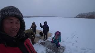 Рыболовный тур с детьми