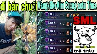 !LIVE! Đi Bán Chuối Rank Vàng+Bk+Kim Cương AoTu Thua SML Luôn Nè Bà Con Cô Bác 😂😂😂