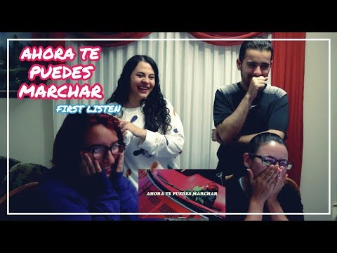 SUPER JUNIOR - AHORA TE PUEDES MARCHAR COVER FIRST LISTEN (ENG SUBS)