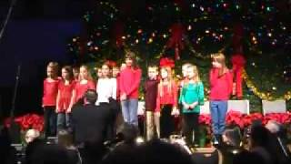"4th & 5th Graders sing ""The Baby in Bethlehem"""