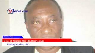 BOAKYE GYAN BLASTS NANA ADDO LED GOV'T OVER INSECURITY