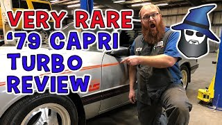 What the CAR WIZARD found in this Very Rare '79 Mercury Capri Turbo