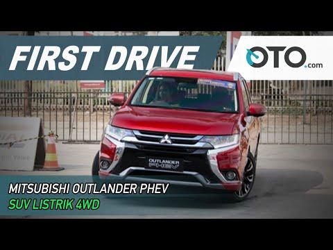 Mitsubishi Outlander PHEV | First Drive | SUV Listrik 4WD | GIIAS | OTO.com