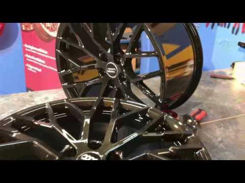 Audi R8 Carbon Wassertransferdruck von TeamAPT- 20 Zoll Alufelgen Felgen