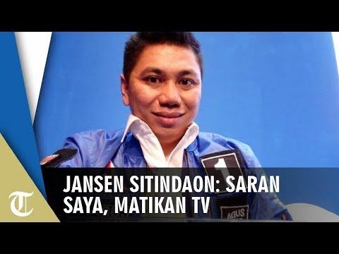 Tak Percaya Hasil Quick Count, Jansen Sitindaon: Saya Sarankan Matikan TV dan Tunggu Hasil Resmi