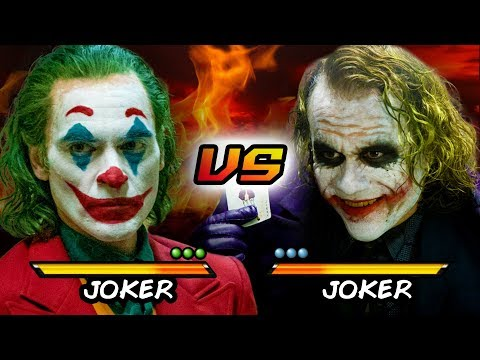 Joker Vs Joker | Joaquin Phoenix Vs Heath Ledger | Versus