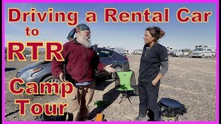 Driving a Rental Car to RTR - Camp Tour