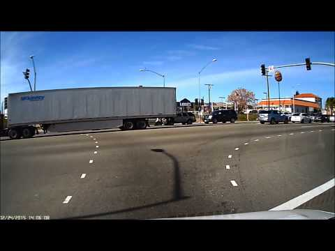Lake Elsinore Red Light Runner and Accident