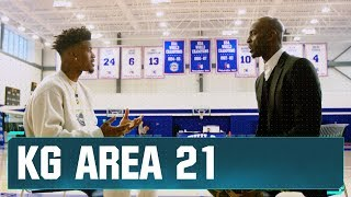 Jimmy Butler Discusses His Philly Transition with KG   Area 21