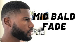 MID BALD FADE HAIRCUT TUTORIAL: LEARN THIS FADE IN 5 MINUTES