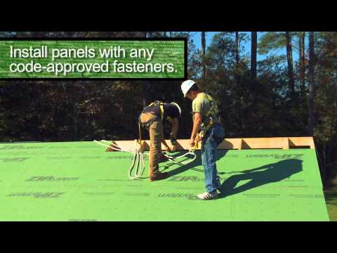 ZIP System® Sheathing vs. Tape and Underlayment