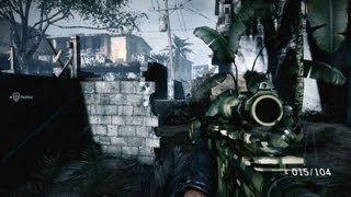 Isabela City Shoot Out - Medal of Honor: Warfighter Gameplay