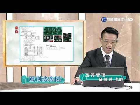 蘇峰民博士-品質管理(學院) 品質七大手法